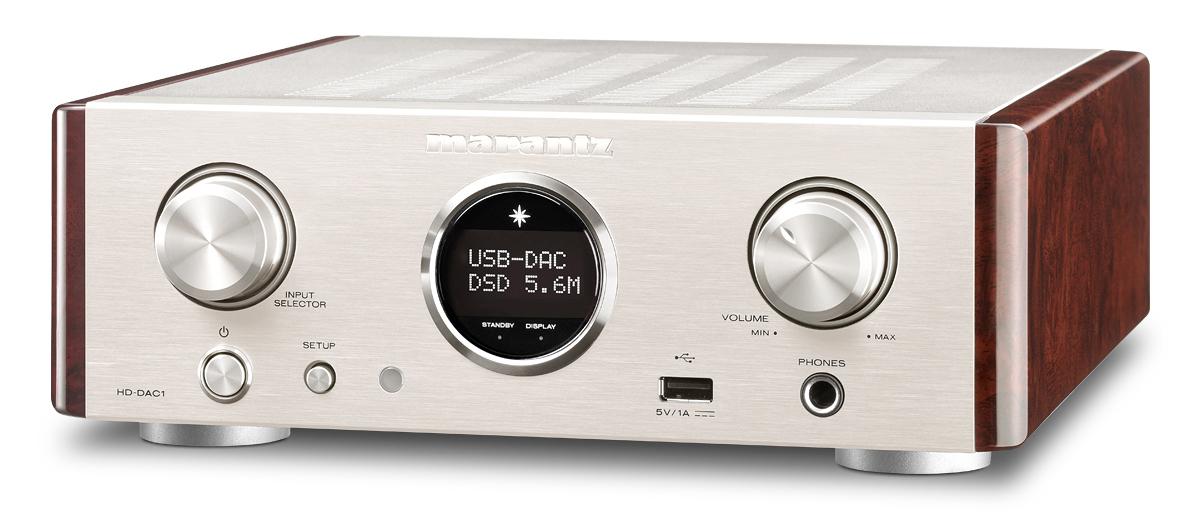 Marantz HD-DAC1 Headphone Amplifier and DAC
