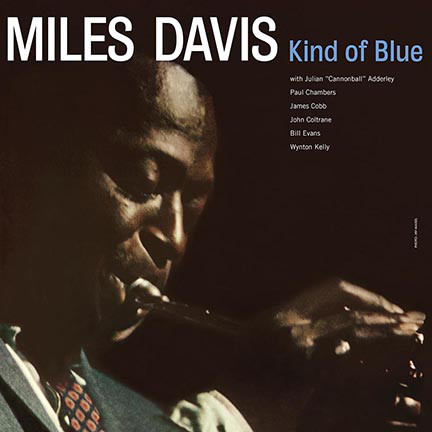 Miles Davis Kind Of Blue Deluxe Gatefold Edition Vinyl