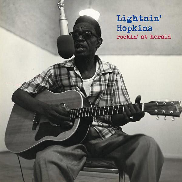 Lightnin Hopkins Rockin At Herald Vinyl Lp Wlv82075