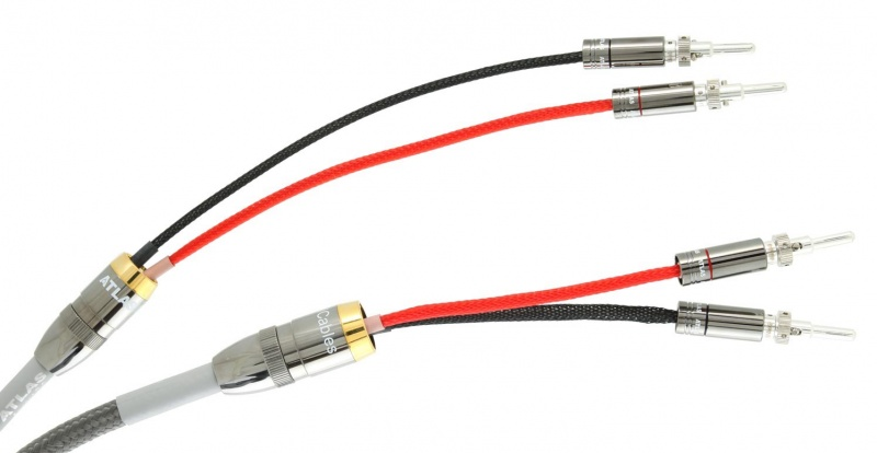 Atlas Ascent 3 5 Speaker Cable 4 0m Pair With Z Banana