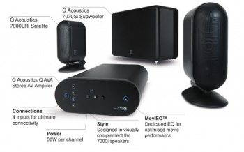 Q Acoustics M7 2.1 Audio System