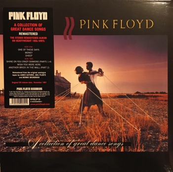 Pink Floyd - A Collection Of Great Dance Songs VINYL LP PFRLP19