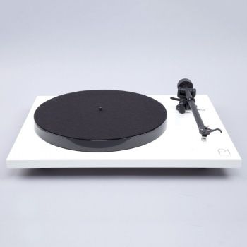 Rega Planar 1 Plus Turntable with Built In Phonostage - White - B Grade