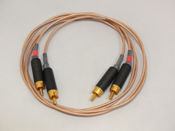 Rothwell Audio River Interconnects 1.0m Pair + New Switchcraft Plugs