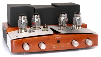 Unison Research Sinfonia Integrated Amplifier - Cherry - Brand New, Sale!
