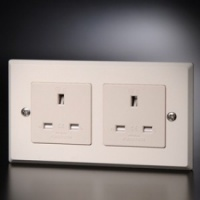 Furutech FP-1363-D UK Mains Duplex Wall Socket