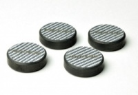 Oyaide INS-CF Silver Carbon Isolators (Set of 4)