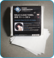Stasis Corporation Ninja Clean Towel Disposable Vinyl Record Cleaning Wipes