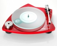 Thorens TD 209 Turntable (Open Box) (Gloss Red)