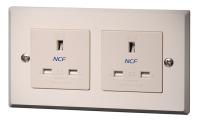 Furutech FP-1363-D NCF UK Mains Duplex Wall Socket