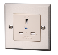 Furutech FP-1363-S NCF UK Mains Single Wall Socket