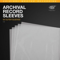 Mobile Fidelity Outer Archival Record Sleeves (Pack of 50)