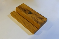 Music Box Design ''Groove'' Record Display Holder (Oiled Oak)