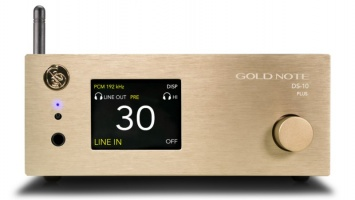 Gold Note DS-10 PLUS DAC, Streamer & Headphone Amplifier