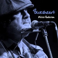 Miller Anderson - Bluesheart Ltd Edition Blue Vinyl LP