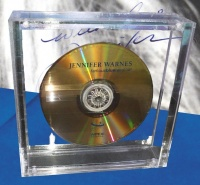 Jennifer Warnes - Famous Blue Raincoat - Limited Numbered Crystal Disc CD + Booklet IMP8316