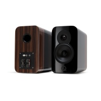 Q Acoustics Concept 300 Speakers - Black / Rosewood - Reduced to Clear