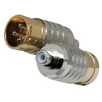 Cardas Clear Male XLR to Female RCA Adapters