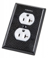 Furutech 104-D Double US Mains Receptacle Cover