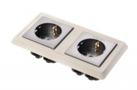 Furutech FP-SWS-D High Performance Double Schuko Wall Socket