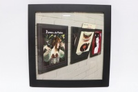 Art Vinyl Play & Display Flip Frame - Black - B Grade
