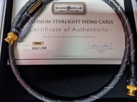 WireWorld Platinum Starlight 75 Ohm (BNC to BNC) Digital Interconnect - 1.0m - Clearance Sale (A012)