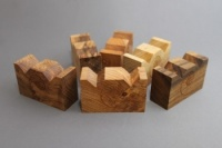 Cardas Small Myrtlewood Blocks W Double Notch (Set of 6)