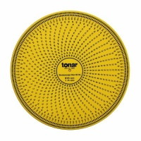 Tonar 12 Inch Acrylic Stroboscopic Disc For Calibrating Turntable Speed (50 & 60Hz compatible)