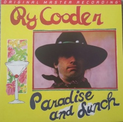 Ry Cooder - Paradise And Lunch VINYL LP MFSL1-449