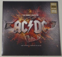 AC/DC-The Many Faces Of AC/DC The Ultimate Tribute To AC/DC Limited Edition 2x Red Vinyl LP VYN017