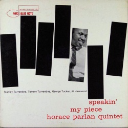 Horace Parlan Quintet - Speakin' My Piece CD AWMXR-0002