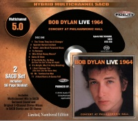 Bob Dylan Live 1964 Numbered 2 x CD AFZ5230