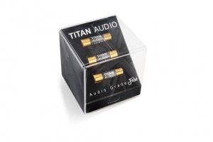 Titan Audio Gold Plated 13A UK Plug Audio Grade Fuses (Pack of 3)