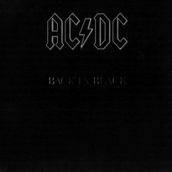 AC/DC - Back In Black 180g Vinyl LP (5107651)