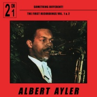 Albert Ayler - Something Different! The First Recordings Vol 1 & 2 CD GB016CD