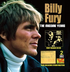 Billy Fury - The Missing Years CD PEA022