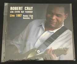 Robert Cray with Stevie Ray Vaughn Live at Reddux Club, Houson TX January 21 1987 CD - BRR6040