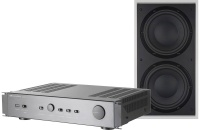 Bowers & Wilkins ISW-4 In-Wall Subwoofer and SA250 Amplifier Package (Single)