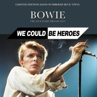 David Bowie - We Could Be Heroes VINYL LP LTD EDITION HAND NUMBERED BLUE VINYL CPLVNY282