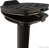 Ultimate Support MS-100B Speaker Stands - Black (Pair)
