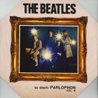 The Beatles - Su Dischi Parlophon Volume 4 VINYL LP AR030