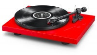 Pro-Ject Debut Carbon Phono USB  Turntable (Red) Reduced to clear
