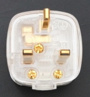 Isoclean Audiophile Gold-Plated UK 13A Mains Plug