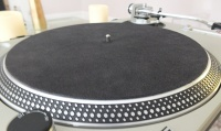 Analogue Studio Leather Turntable Platter Mat (Black)