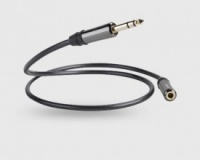 QED Performance Graphite 6.3mm Jack Headphone Extension Cable