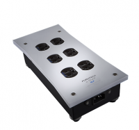 Furutech e-TP609E NCF 6 Way Schuko Mains Distribution Block - Clearance Sale!