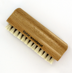 Tonar Wood Goat Hair Wet Record Cleaning Brush