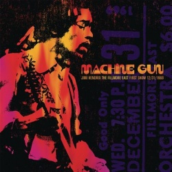 Jimi Hendrix - Machine Gun At The Fillmore East First Show 12/31/1969 CD CAPP73962SA