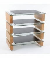 Custom Design Milan Reference 10 ''Acoustic'' 4 Shelf HiFi Equipment Stand