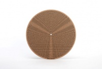 Simply Analog Cork Turntable Platter Mat (Tricircle Printed)